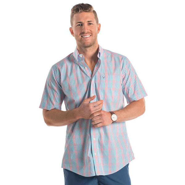 Walton Check in Regatta by The Southern Shirt Co.. - FINAL SALE