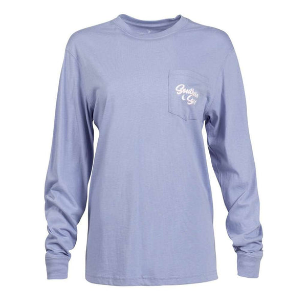 The Southern Shirt Co. Mountain View Long Sleeve Tee by The Southern Shirt Co.