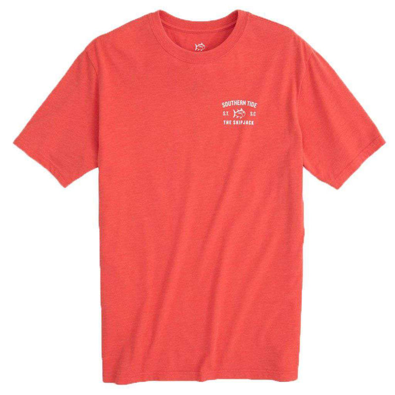 Southern Tide Classic ST Heather Boat T-Shirt by Southern Tide