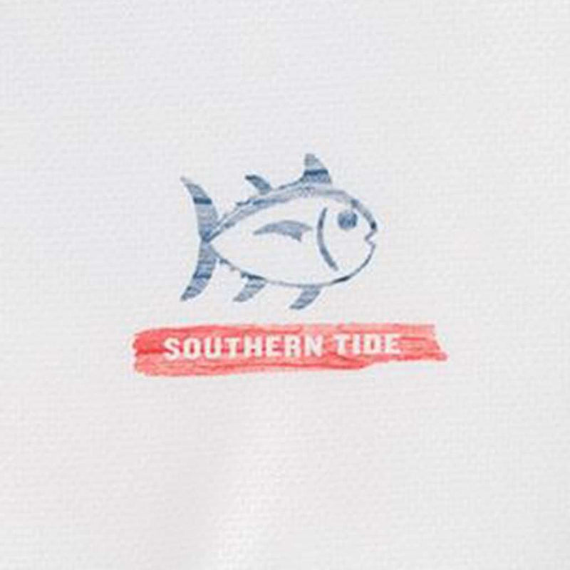 Southern Tide Long Sleeve Distressed Wood Flag Performance T-Shirt by Southern Tide
