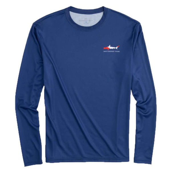 Southern Tide Long Sleeve Dive If You Dare Performance T-Shirt by Southern Tide