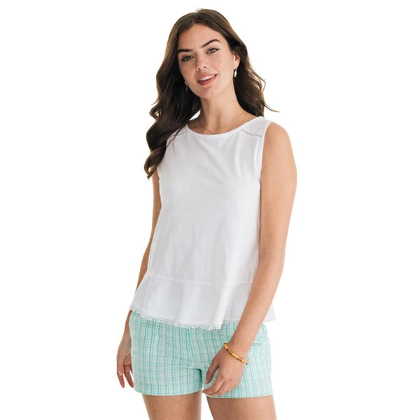 Elena Knit Sleeveless Top by Southern Tide