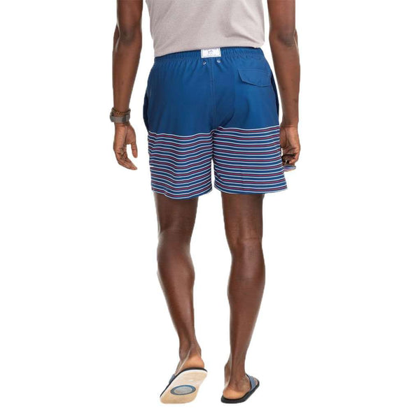 Southern Tide Fireworks Stripe Swim Trunks by Southern TIde