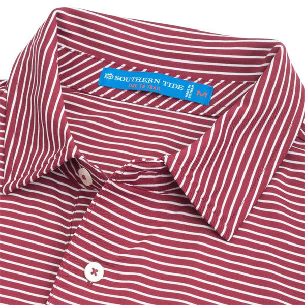 Southern Tide Florida State Seminoles Striped Performance Polo Shirt by Southern Tide