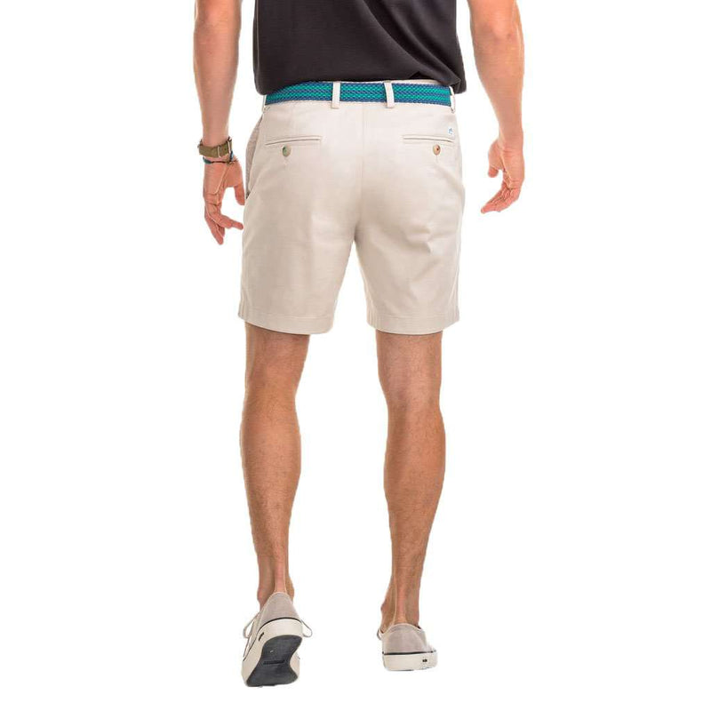 "Southern Tide Summer Weight 7"" Channel Marker Shorts in Stone by Southern Tide"