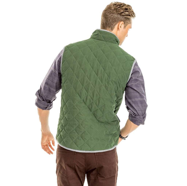 Southern Tide Doubleback Quilted Field Vest by Southern Tide