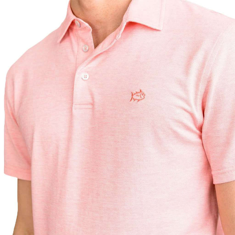 Southern Tide Pecan Grove Jacquard Polo Shirt by Southern Tide