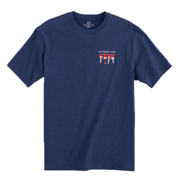 Southern Tide Nautical Buoys Flag Heathered T-Shirt by Southern Tide
