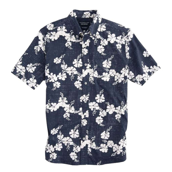 Southern Tide Reyn Spooner Aloha Intercoastal Performance Short Sleeve Shirt by Southern Tide