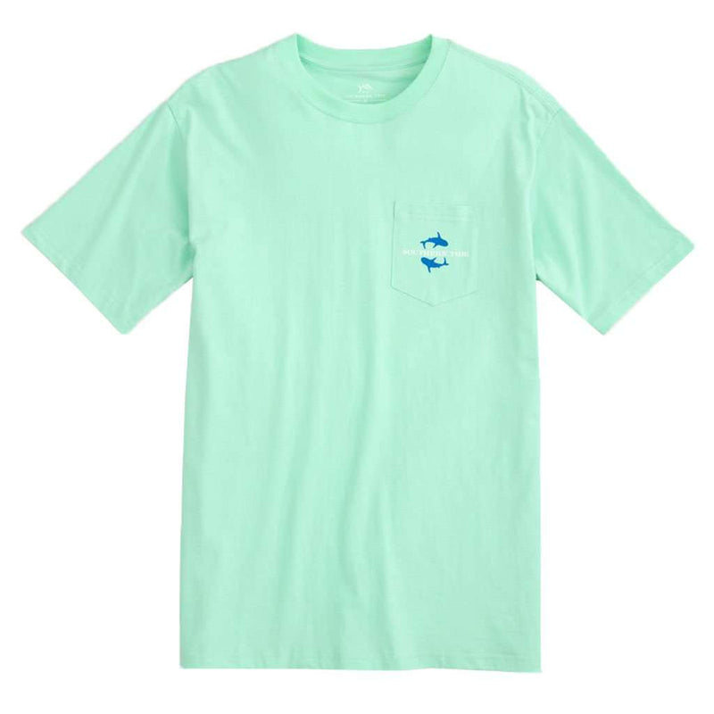 Southern Tide School of Sharks Skipjack Tee by Southern Tide