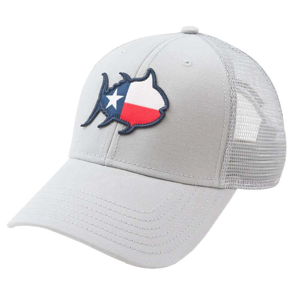 Skipjack State Trucker Hat - TX in Grey by Southern Tide 7da15e3f695f