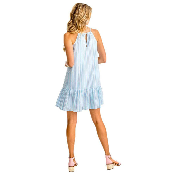 Ivette Multi Tonal Striped Seersucker Dress by Southern Tide - FINAL SALE