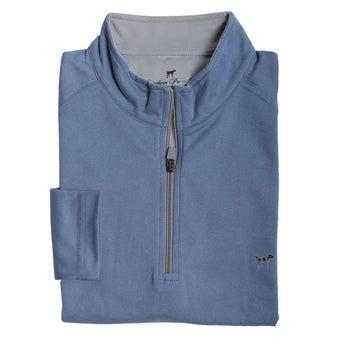 Southern Point Wellington Pullover in Blue