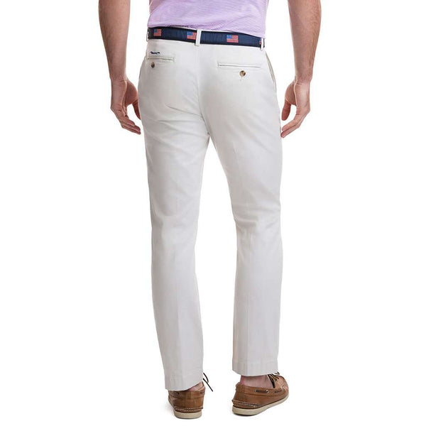 Stretch Breaker Pants in Stone by Vineyard Vines