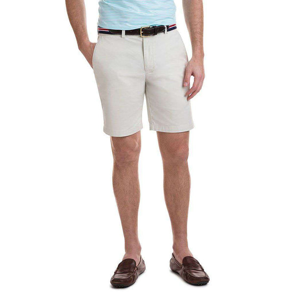 9 Inch Stretch Breaker Shorts in Stone by Vineyard Vines