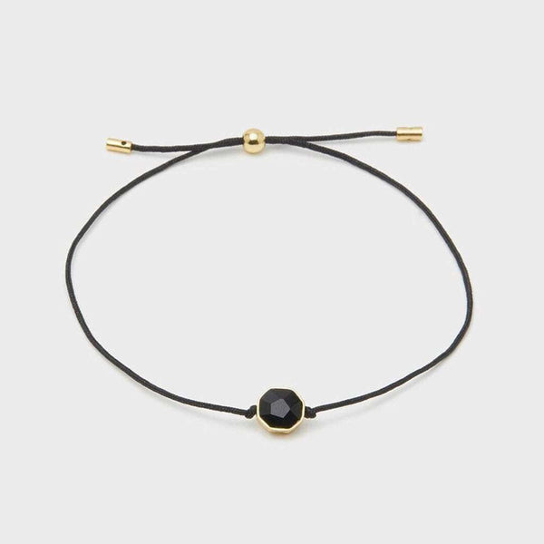 "Gorjana Power Gemstone Cord ""Protection"" Bracelet by Gorjana"