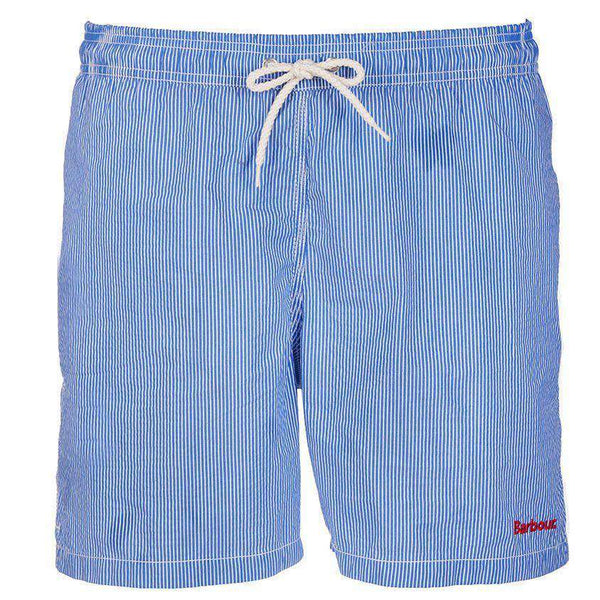 Striped Swimming Short in Blue by Barbour  - 2