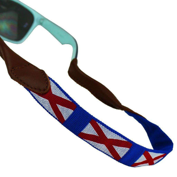 Sunglass Straps - Alabama Needlepoint Sunglass Strap By 39th Parallel