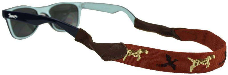 Sunglass Straps - Bird Dog Needlepoint Sunglass Strap By 39th Parallel