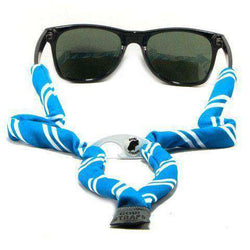 Sunglass Straps - Blue & White Bottle Opener Striped Sunglass Straps By Gobi Straps