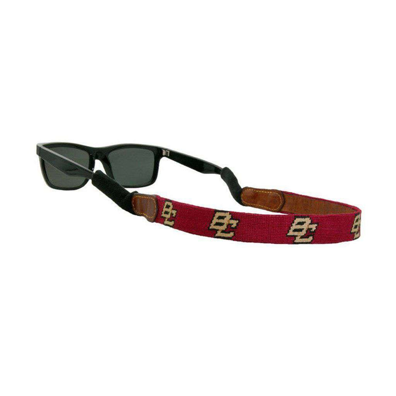 Boston College Needlepoint Sunglass Straps by Smathers & Branson
