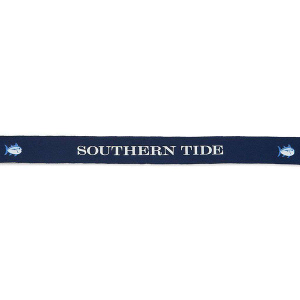 Classic Skipjack Sunglass Strap in Blue Depths by Southern Tide