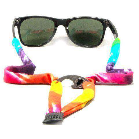 Sunglass Straps - Classic Tie-Dye Bottle Opener Sunglass Straps By Gobi Straps - FINAL SALE