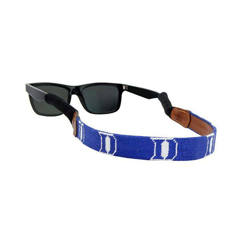 Duke University Needlepoint Sunglass Straps by Smathers & Branson