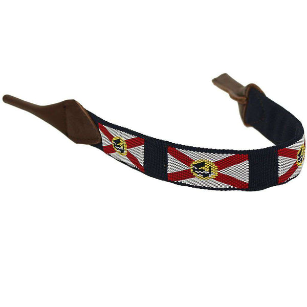 Florida Needlepoint Sunglass Strap by 39th Parallel