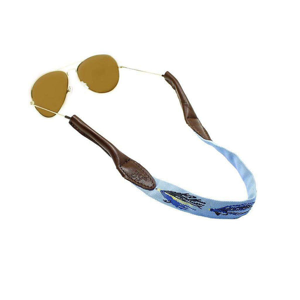 Sunglass Straps - Fly Fishing Sunglass Straps In Blue By 39th Parallel