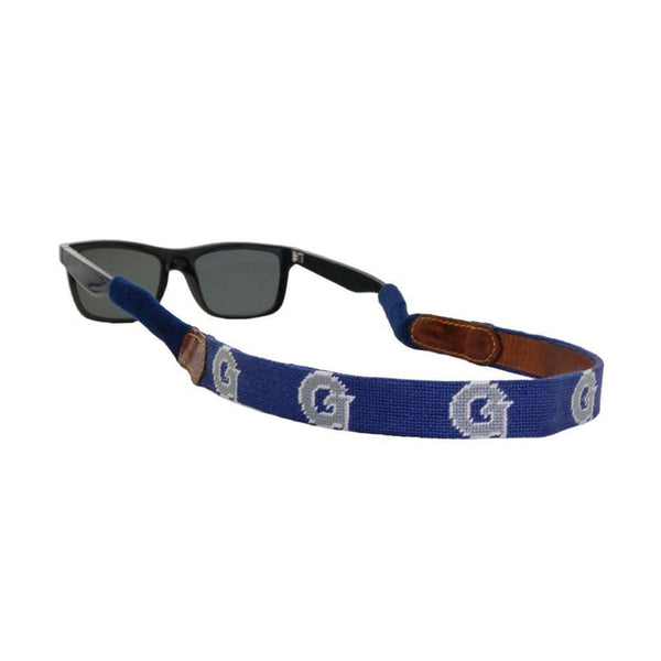 Sunglass Straps - Georgetown Needlepoint Sunglass Straps By Smathers & Branson