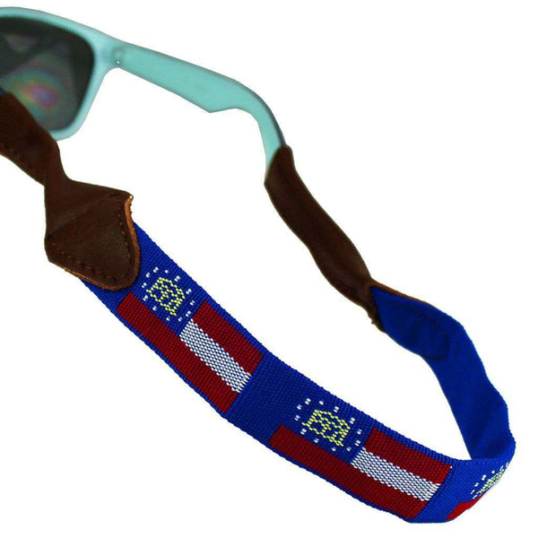 Georgia Needlepoint Sunglass Strap by 39th Parallel