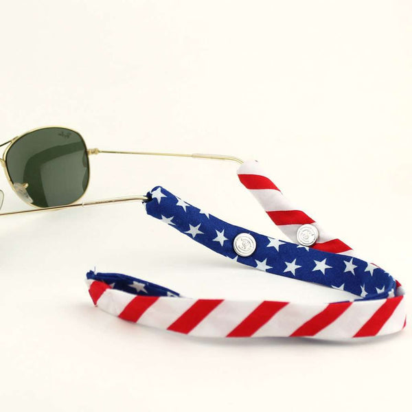 Sunglass Straps - Limited Edition Land Of The Free Sunglass Straps By CottonSnaps