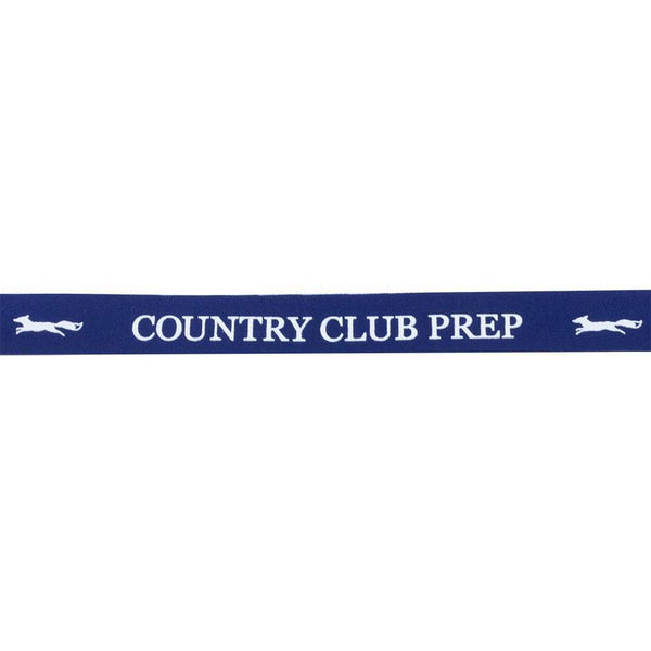 Longshanks Sunglass Straps in Navy by Country Club Prep