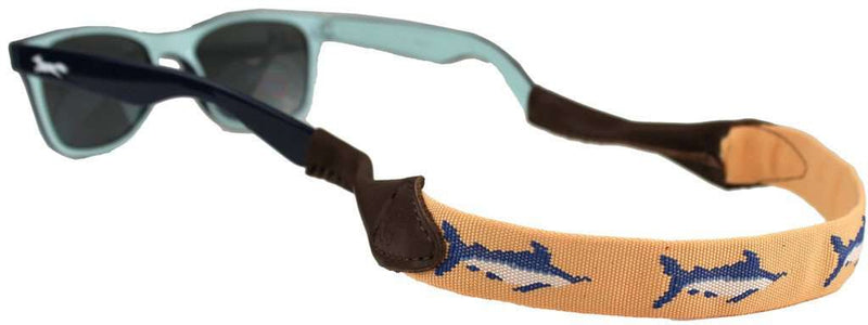 Sunglass Straps - Marlin Needlepoint Sunglass Strap By 39th Parallel