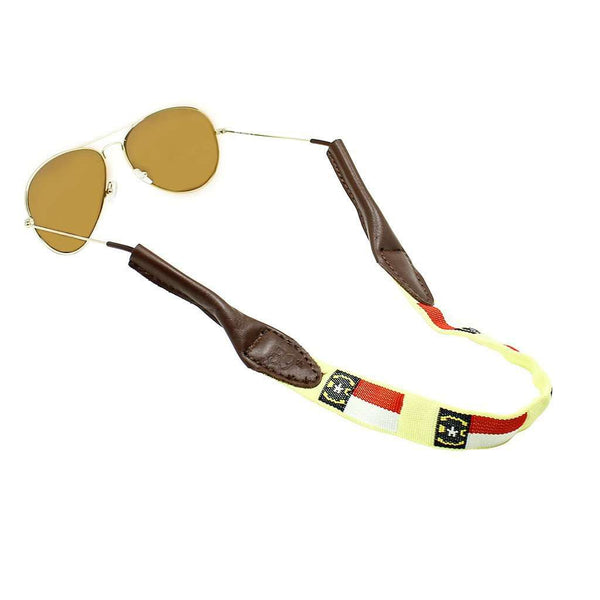 Sunglass Straps - North Carolina Sunglass Straps In Yellow By 39th Parallel