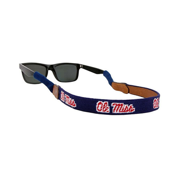 Ole Miss Needlepoint Sunglass Straps by Smathers & Branson