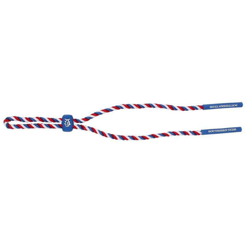 Red, White and Blue Rope Sunglass Straps by Southern Tide