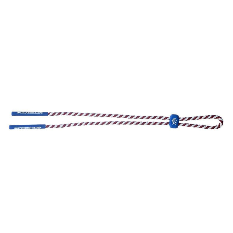 Sunglass Straps - Rope Sunglass Straps In Crimson By Southern Tide