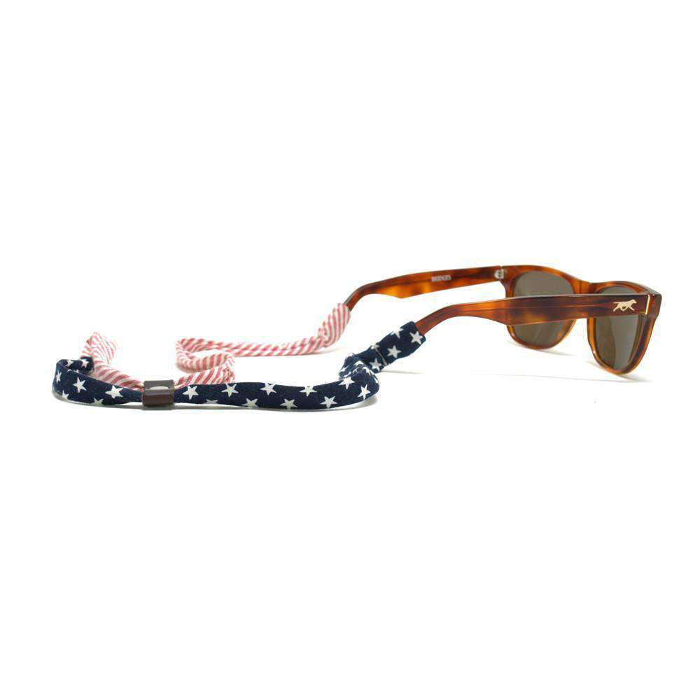 Sunglass Straps - Stars And Stripes Sunglass Straps By Knot Clothing & Belt Co.