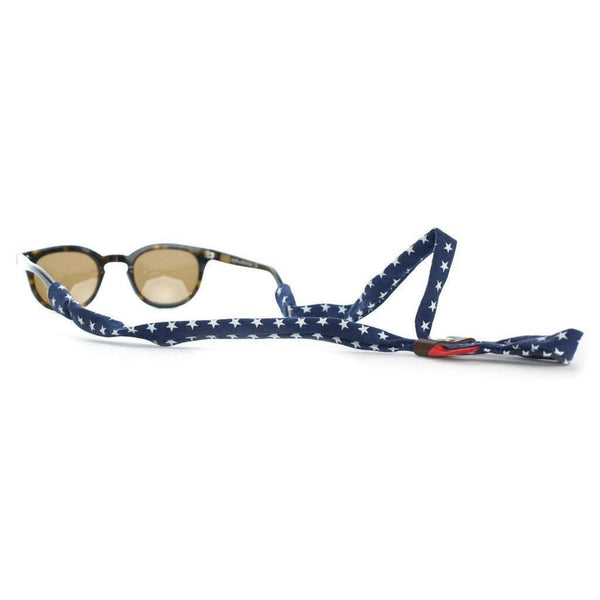 Sunglass Straps - Stars Sunglass Straps In Navy By Knot Clothing & Belt Co.
