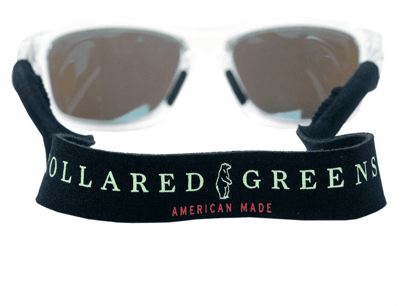 Sunglass Straps in Black by Collared Greens