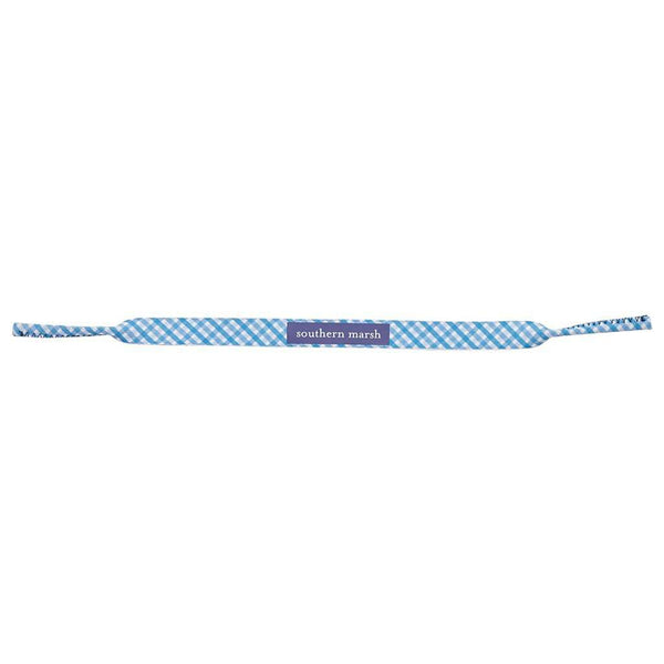 Sunglass Straps - Sunglass Straps In Blue With White By Southern Marsh