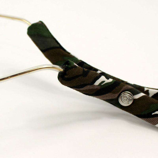 Sunglass Straps in Camo by CottonSnaps