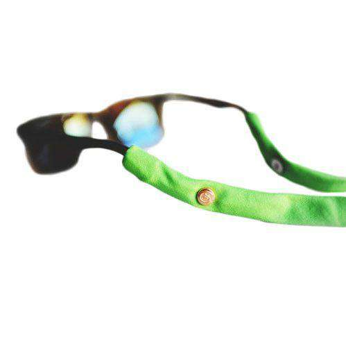Sunglass Straps in Electric Green by CottonSnaps