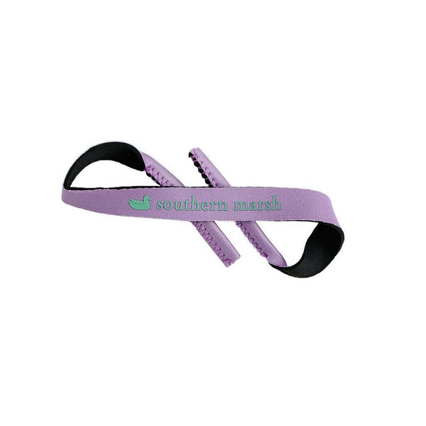 Sunglass Straps in Wharf Purple by Southern Marsh