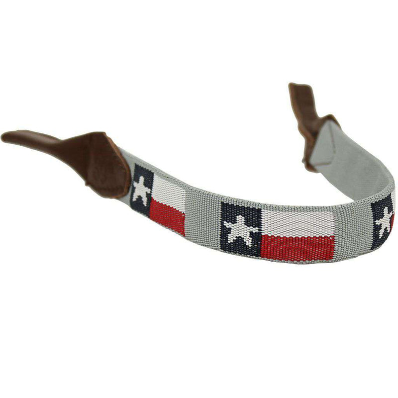 Sunglass Straps - Texas Needlepoint Sunglass Strap By 39th Parallel