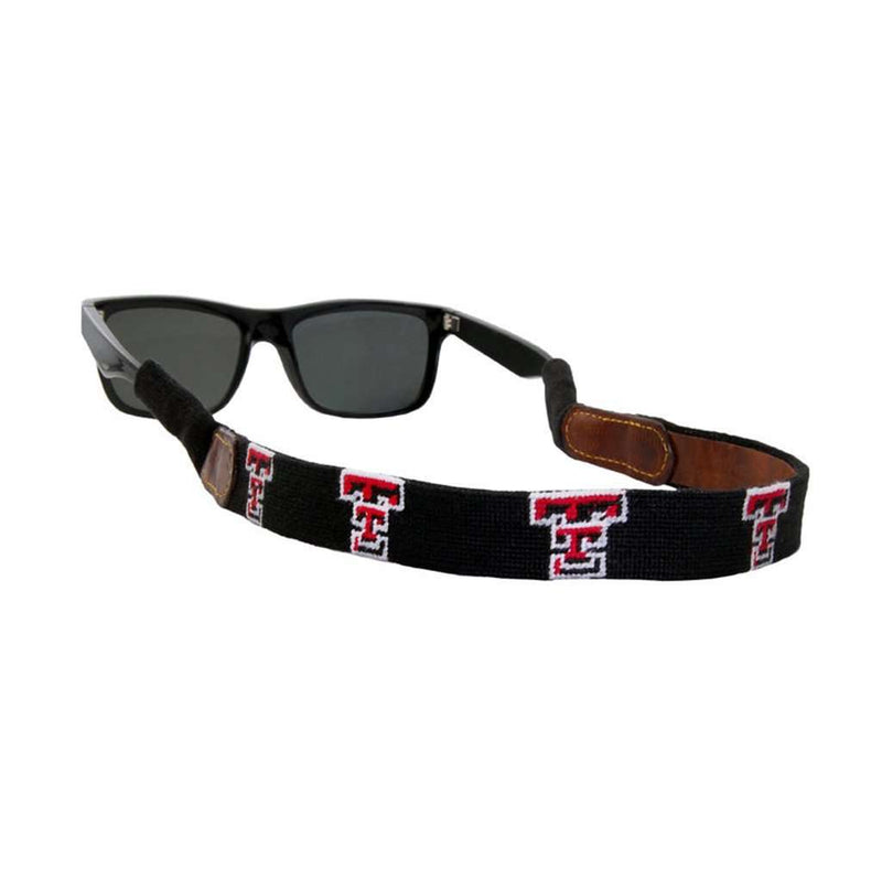 Texas Tech Needlepoint Sunglass Straps by Smathers & Branson