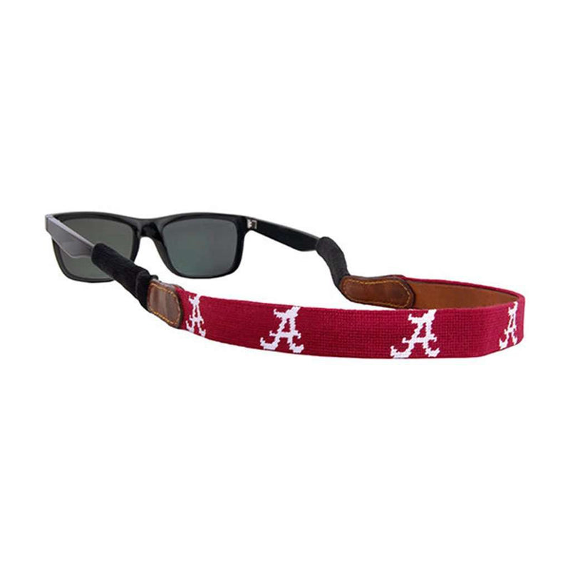 University of Alabama Needlepoint Sunglass Straps by Smathers & Branson