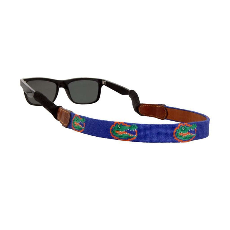 University of Florida Needlepoint Sunglass Straps by Smathers & Branson